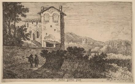 For dalla porta pia (Villa outside the Porta Pia)