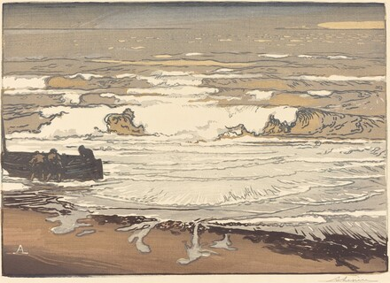 Unfurled Waves, Flood of September, 1901 (Les Vagues deferlent)