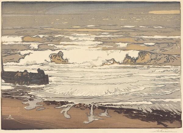 Unfurled Waves, Flood of September, 1901 (Les Vagues deferlent)
