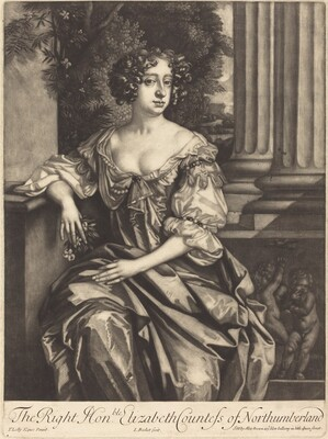 The Right Honorable Elizabeth Countess of Northumberland