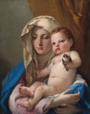 Madonna Of The Goldfinch
