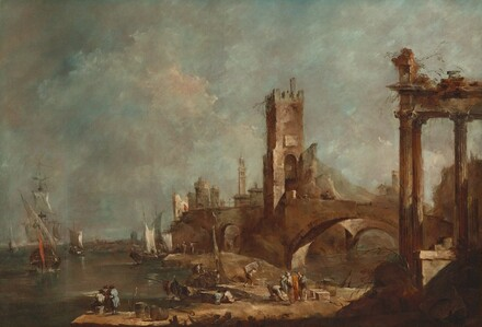 Capriccio of a Harbor