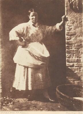 A Newhaven Fisherwoman