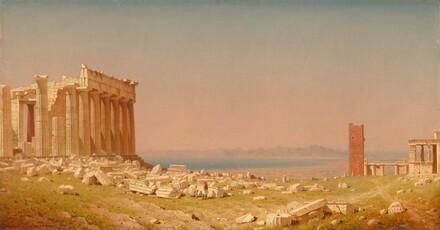 Sanford Robinson Gifford, Ruins of the Parthenon, 18801880