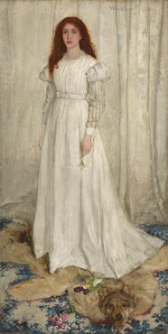 James McNeill Whistler, Symphony in White, No. 1: The White Girl, 1862