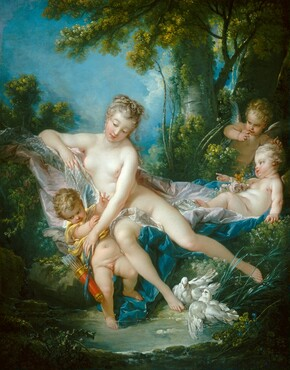 François Boucher, The Bath of Venus, 17511751