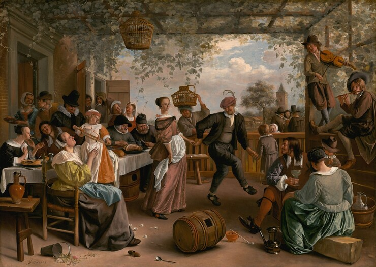 The Dancing Couple
