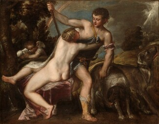 Titian and Workshop, Venus and Adonis, c. 1540s/c. 1560-1565