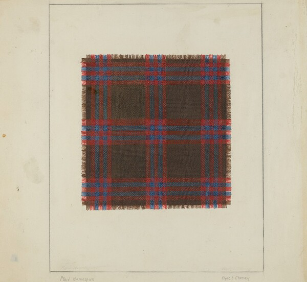 Plaid Homespun