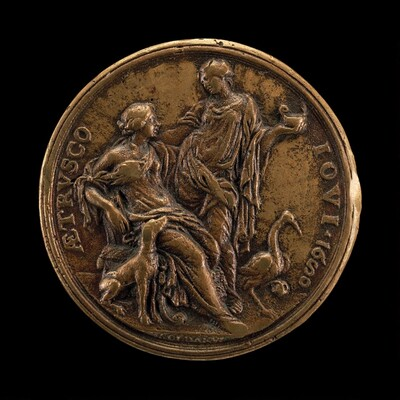 Allegory of Vigilance and Loyalty [reverse]