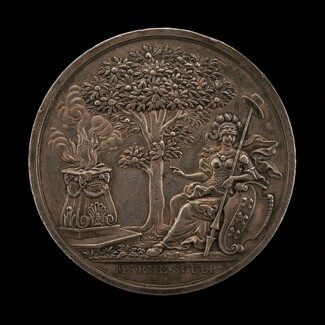 Minerva Encouraging the State [reverse]