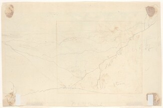 Mountain Landscape [verso]