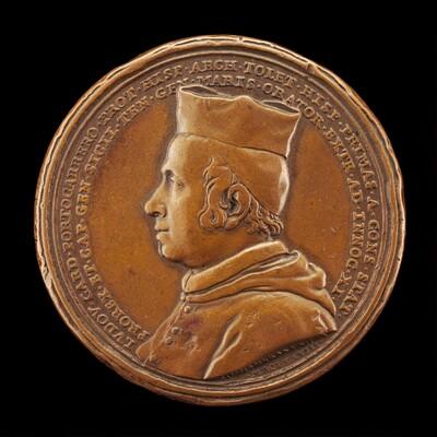 Luis Manuel Fernandez de Portocarrero, 1629-1709, Cardinal 1669, Archbishop of Toledo 1677, Viceroy of Sicily 1677-1678 [obverse]