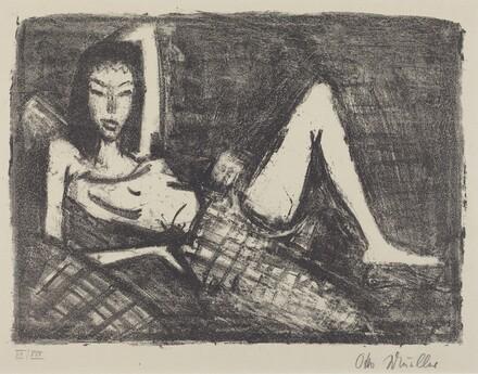 Girl on a Couch (Mädchen auf dem Kanapee)
