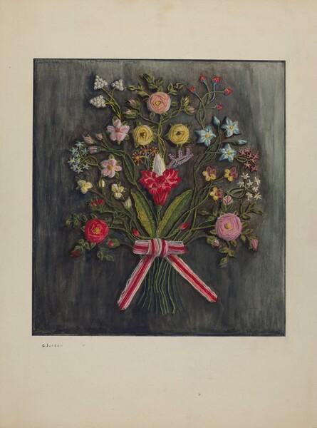 Crewel Wreath