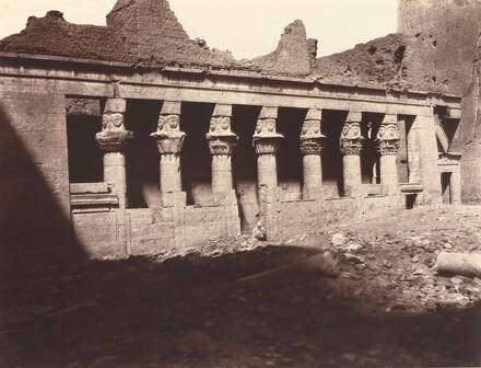 Philae, Cour Intérieure, Colonnade de l'Ouest