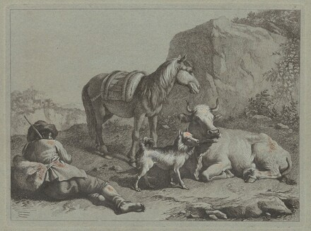 Reclining Shepherd with a Sack