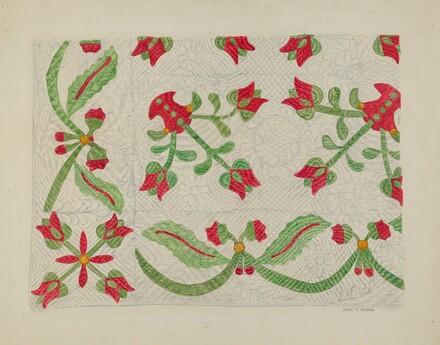 Quilt - Tulip Design