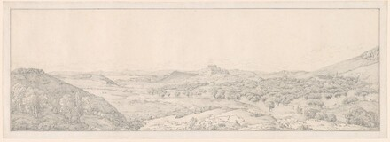 Panorama toward Athens from the Garden of Aphrodite