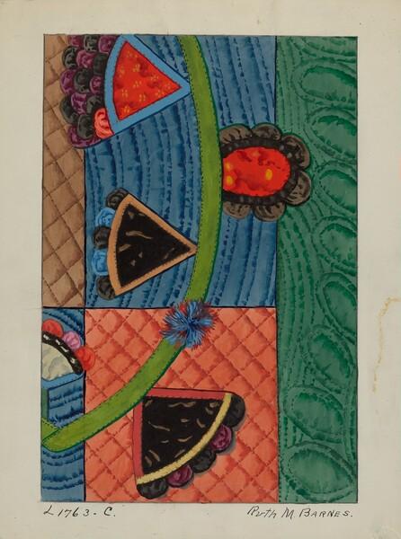 Coverlet (Applique Quilt)