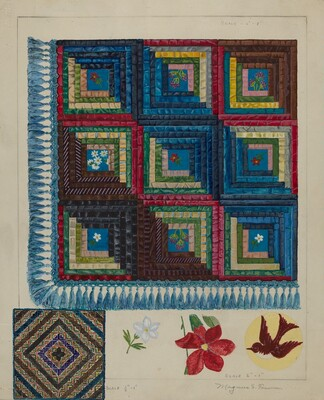 Quilt - Log Cabin Pattern