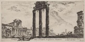 Vestigi del tempio del Giove Statore