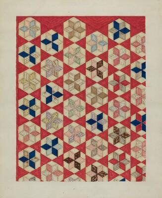 Patchwork Quilt - Evening Star
