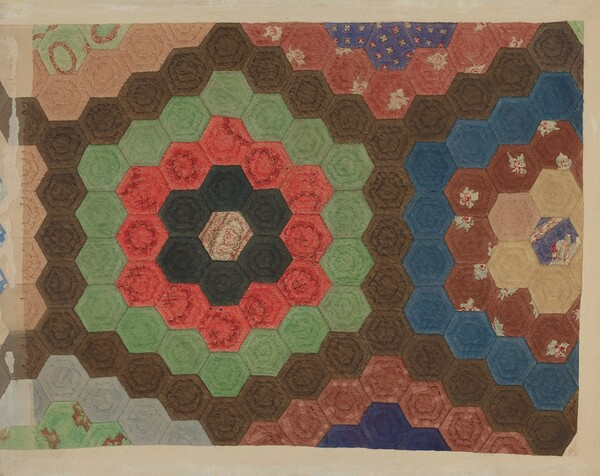 Shaker Patchwork Quilt