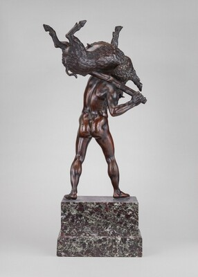 Hercules Carrying the Erymanthian Boar