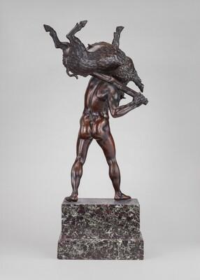 Hercules Carrying the Erymanthian Boar