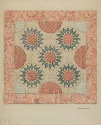 Infant's Quilt (Bed Covering)
