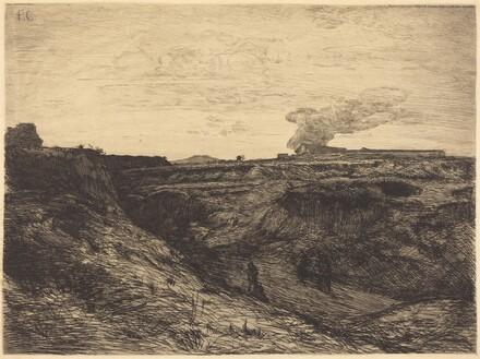 Quarry near Montmartre