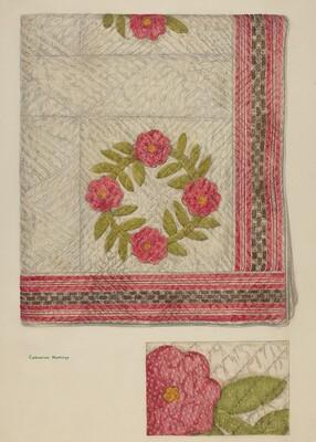 Quilt - Garden Wreath