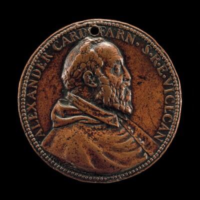 Cardinal Alessandro Farnese, 1520-1589 [obverse]