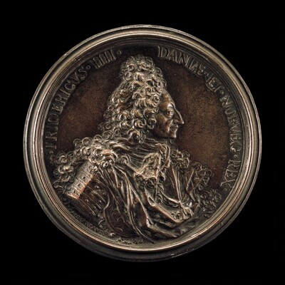 Frederick IV, 1671-1730, King of Denmark and Norway 1699 [obverse]