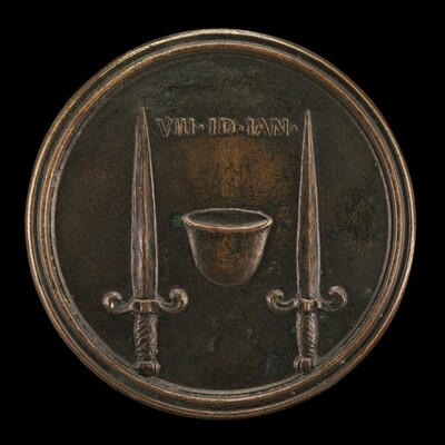 Cap of Liberty between Daggers [reverse]