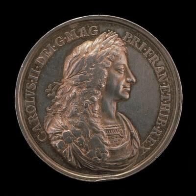 Charles II, 1630-1685, King of England 1660 [obverse]