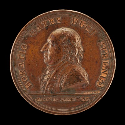 Horatio Gates, 1728-1806, Major General [obverse]