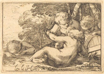 Four Bacchic Children