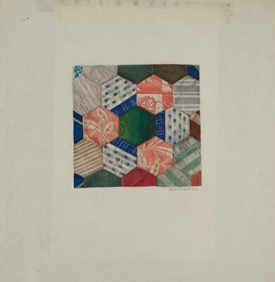 Silk Quilt - Honeycomb Pattern
