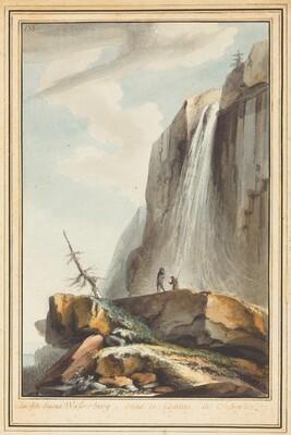 Cascade dessus Wasserberg (Waterfall above Wasserberg)