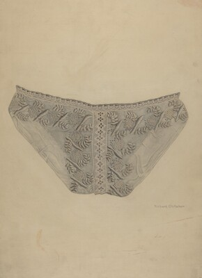 Cutwork Lace Bib