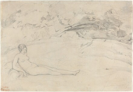 A Nude Reclining in a Landscape