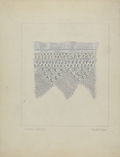 Knitted Lace Edging