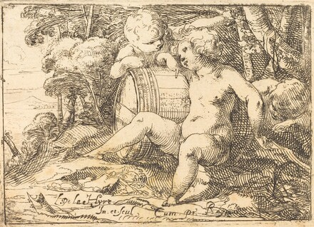 Three Bacchic Children