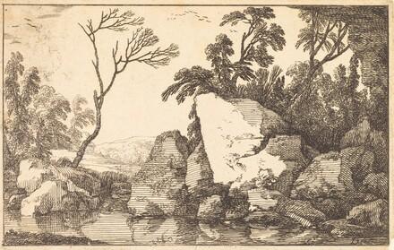 A Rocky Pond