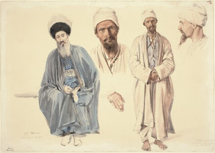 An Elderly Jew and a Muslim Tartar in the Crimea