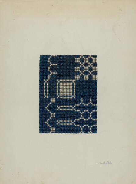 Coverlet (Section of)