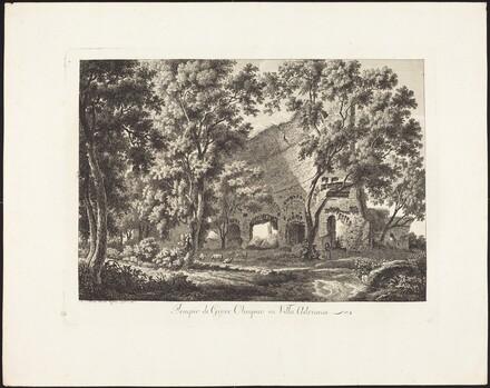Tempio di Giove Olimpico in Villa Adriana