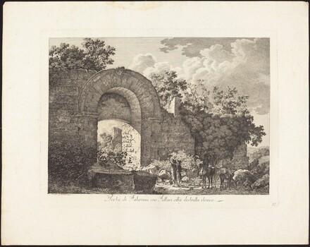 Porta di Falerium ora Fallari città destrutta etrusca